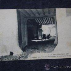 Postales: POSTAL CURSO MAYO - DICIEMBRE 1922, PRACTICAS GENERALES. DE LA MARCHA A MORA, INTERIOR DE UNA CASA. Lote 33478297
