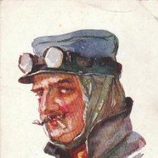 Postales: AVIADOR, DIBUJO DE DUPUIS (AÑO 1915), ESCRITA POR UN SOLDADO FRANCÉS DEL EJERCITO COLONIAL. Lote 33632341