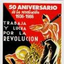 Postales: GUERRA CIVIL ESPAÑOLA,CNT-FAI 25 POSTALES 50 ANIV.REVOLUCION 1936-1986,REPUBLICA,EJERCITO POPULAR.. Lote 33783814
