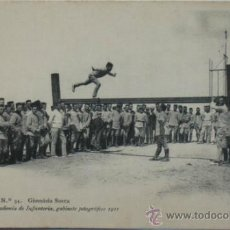 Postales: POSTAL MILITAR ACADEMIA DE INFANTERÍA.GIMNÁSIA SUECA.1911.. Lote 34021334