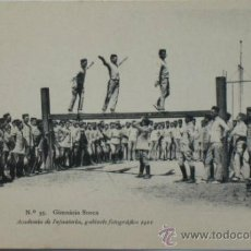 Postales: POSTAL MILITAR ACADEMIA DE INFANTERÍA.GIMNÁSIA SUECA.1911.. Lote 34021370
