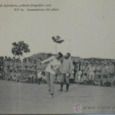 Postales: POSTAL MILITAR ACADEMIA DE INFANTERÍA.LANZAMIENTO DE PILUM.1912.. Lote 34022053