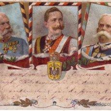 Postales: POSTAL MILITAR DE AUSTRIA - CONDECORACIONES - FECHADA EN 1899 CIRCULADA. Lote 34356333