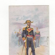 Postales: POSTAL ILUSTRADA TEMA MILITAR. DIBUJO DE J. CUSACHS. ED. THOMAS. BARCELONA.. Lote 34469542