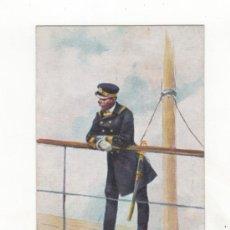 Postales: POSTAL ILUSTRADA TEMA MILITAR. DIBUJO DE J. CUSACHS. ED. THOMAS. BARCELONA.. Lote 34469547