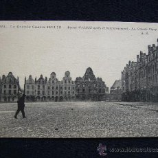 Postales: POSTAL MILITAR. LA GRAN GUERRA. ARRAS DESPUES DEL BOMBARDEO. AÑO 1915.. Lote 34529791