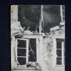 Postales: POSTAL MILITAR. NANCY. BOMBARDEO DEL 9-10 DE SEPTIEMBRE DE 1914.. Lote 34552854