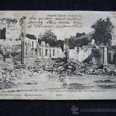 Postales: POSTAL MILITAR. GUERRA 1914-1915. REVIGNY. BOMBARDEO DEL 6 AL 12 DE SEPTIEMBRE.. Lote 34553052