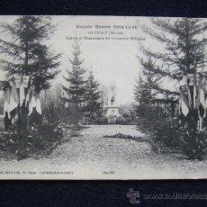 Postales: POSTAL MILITAR. GUERRA 1914-1915. REVIGNY. ENTRADA AL CEMENTERIO MILITAR.. Lote 34553069