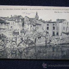 Postales: POSTAL MILITAR. GUERRA 1914-1915. BOMBARDEO DE VERDUN.. Lote 34553539