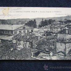 Postales: POSTAL MILITAR. GUERRA 1914-1915. BOMBARDEO DE VERDUN.. Lote 34553549