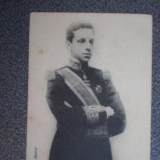 Postales: POSTAL ANTERIOR A 1905 S. M. DON ALFONSO XIII REY DE ESPAÑA . Lote 35485255