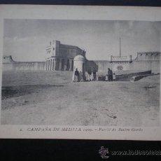 Postales: POSTAL AÑO 1909 CAMPAÑA DE MELILLA FUERTE DE ROSTRO GORDO. Lote 35592242