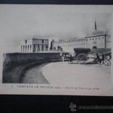Postales: POSTAL AÑO 1909 CAMPAÑA DE MELILLA FUERTE DE CABRIRIZAS ALTAS. Lote 35592313