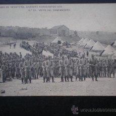 Postales: POSTAL AÑO 1910 ACADEMIA DE INFANTERÍA VISTA DEL CAMPAMENTO. Lote 35592353