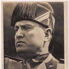 Postales: ANTIGUA POSTAL MUSOLINI CENSURA MILITAR BURGOS GUERRA CIVIL ESPAÑOLA 1939 ED JUAN MARRA. Lote 36376342