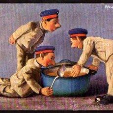 Postales: POSTAL SOLDADOS. CIRCULADA 1911.. Lote 36403278