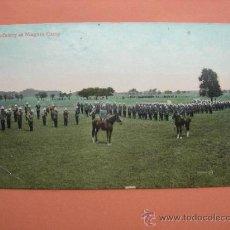 Postales: INFANTRY AT NIAGARA CAMP. 1908. Lote 37106032