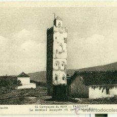 Postales: MARRUECOS. MELILLA. TARGUIST. ULTIMA MEZQUITA DONDE REZÓ ABD-EL-KRIM. HACIA 1928.. Lote 37352580
