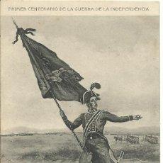 Postales: POSTAL MEMORIAL DE INGENIEROS DEL EJERCITO 1908.-SUBTENIENTE DE BANDERA. Lote 37531696