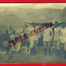 Postales: POSTAL MILITAR , GRUPO DE MILITARES GUERRA DE AFRICA , MARRUECOS FOTOGRAFICA ,ORIGINAL , P78478. Lote 38024415