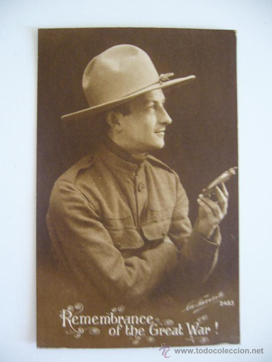POSTAL. REMEMBRANCE OF THE GREAT WAR! LA FAVORITE. 2483. AÑO 1918. (Postales - Postales Temáticas - Militares)