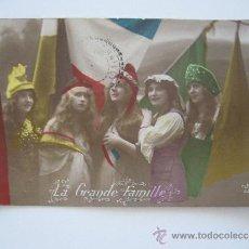 Postales: POSTAL. LA GRANDE FAMILLE. 9511 JK. AÑO 1915.. Lote 38308954