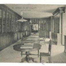 Postales: MUSEO DE ARTILLERIA.-BIBLIOTECA Nº 24 .- HAUSER-MENET. Lote 38743314