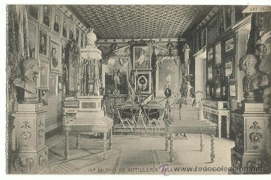 MUSEO DE ARTILLERIA.-SALA DE DAOIZ Y VELARDE Nº 18.- HAUSER-MENET (Postales - Postales Temáticas - Militares)