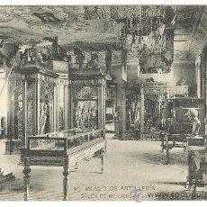 Postales: MUSEO DE ARTILLERIA.-SALON DE RECUERDOS HISTORICOS Nº 21.- HAUSER-MENET. Lote 38743383