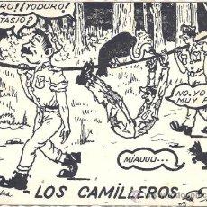 Postales: PS1543 POSTAL CÓMICA DE MILITARES ESPAÑOLES - PRIMER TERCIO S. XX - CIRCULADA. Lote 38988455