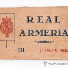 Postales: BLOC III REAL ARMERIA DE 20 TARJETAS POSTALES. Lote 39246348