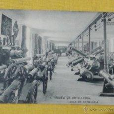 Postales: POSTAL ANTIGUA DE MADRID NUM 6 MUSEO DE ARTILLERÍA,SALA DE ARTILLERIA, FOTOTIPIA DE HAUSER Y MENET. Lote 39793802