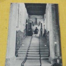 Postales: POSTAL ANTIGUA DE MADRID NUM 3 MUSEO DE ARTILLERÍA ESCALERA PRINCIPAL, FOTOTIPIA DE HAUSER Y MENET. Lote 39793741