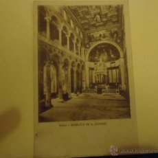 Postales: ANTIGUA POSTAL BLANCO Y NEGRO ROMA. Lote 39805695