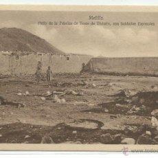 Postales: MELILLA.-PATIO DE LA FABRICA DE YESOS DE TISTUTIN,CON SOLDADOS ESPAÑOLES.-EDICION ESPAÑA NUEVA. Lote 39978450