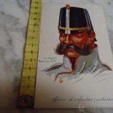 Postales: ANTIGAU CARTE POSTALE , POSTAL , OFICIAL DE INFANTERIA, VISE PARIS, N 30 LEURS CABOCHES. Lote 39983046