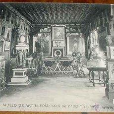 Postales: ANTIGUA POSTAL DEL MUSEO DE ARTILLERIA - SALA DE DAOIZ Y VELARDE - FOTOTIPIA HAUSER Y MENET - NO CIR. Lote 38245143