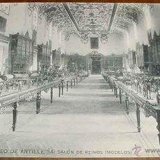 Postales: ANTIGUA POSTAL DEL MUSEO DE ARTILLERIA - SALON DE REINOS - FOTOTIPIA HAUSER Y MENET - NO CIRCULADA -. Lote 38245151
