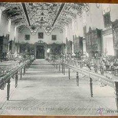 Postales: ANTIGUA POSTAL DEL MUSEO DE ARTILLERIA - SALON DE REINOS - FOTOTIPIA HAUSER Y MENET - NO CIRCULADA -. Lote 38245152