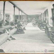 Postales: ANTIGUA POSTAL DEL MUSEO DE ARTILLERIA - SALA DE ARTILLERIA - FOTOTIPIA HAUSER Y MENET - NO CIRCULAD. Lote 38245154