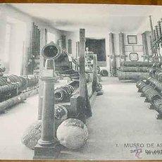 Postales: ANTIGUA POSTAL DEL MUSEO DE ARTILLERIA - SALA DE ARTILLERIA ANTIGUA - FOTOTIPIA HAUSER Y MENET - NO . Lote 38245155
