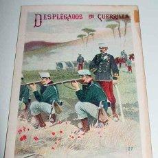 Postales: ANTIGUA POSTAL DESPLEGADOS EN GUERRILLA - Nº 227 - ED. CALLEJA - TARJETA POSTAL ARTISTICA ESPAÑOLA -. Lote 38248830