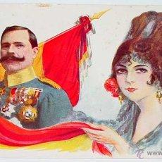 Postales: ANTIGUA POSTAL DE D. MANUEL FERNANDEZ SILVESTRE - GENERAL DE DIVISION, ARMA DE CABALLERIA - RECLAMGR. Lote 38249054