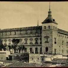 Postales: ANTIGUA POSTAL DE TOLEDO ACADEMIA DE INFANTERIA, 1 VISTA DEL ALCAZAR - HAUSER Y MENET. Lote 38251173