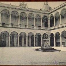 Postales: ANTIGUA POSTAL DE TOLEDO ACADEMIA DE INFANTERIA, 3 PATIO DEL ALCAZAR - HAUSER Y MENET. Lote 38251175