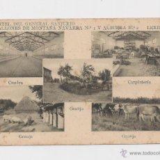 Postales: LERIDA CUARTEL DEL GENERAL SANJURJO POSTAL GENERAL HACIA 1945 . Lote 40346971