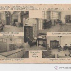 Postales: LERIDA CUARTEL DEL GENERAL SANJURJO POSTAL GENERAL HACIA 1945 . Lote 40346983