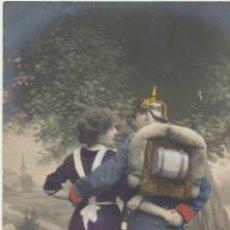 Postales: POSTAL PORTUGUESA. FRANQUEADA EN LISBOA EN 1913.. Lote 40450011