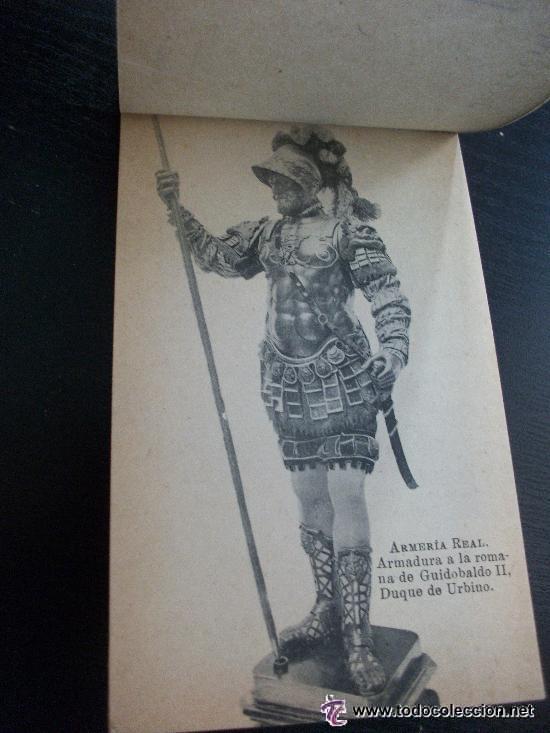 Postales: BLOC DE POSTALES DE LA ARMERIA REAL . COMPLETO : 15 POSTALES CON CELOFAN . PRINCIPIOS DE SIGLO ... - Foto 3 - 40651886